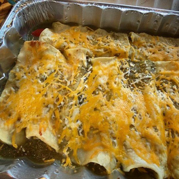 McGeeto's Veggie + Cheese Enchiladas