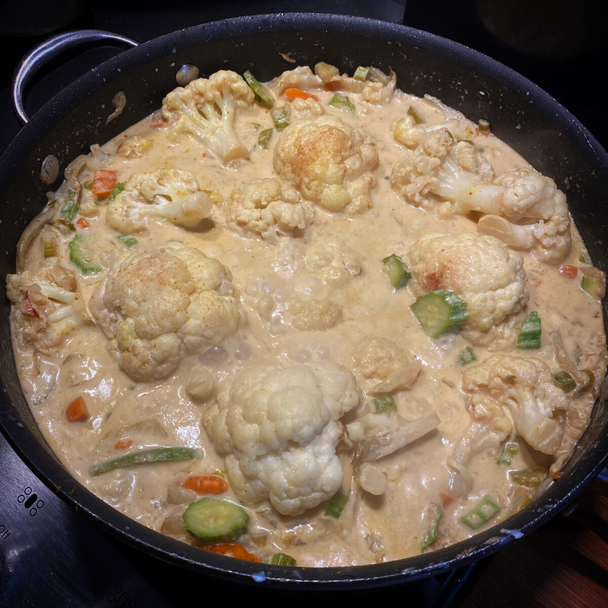McThai's Cauliflower Coconut Curry