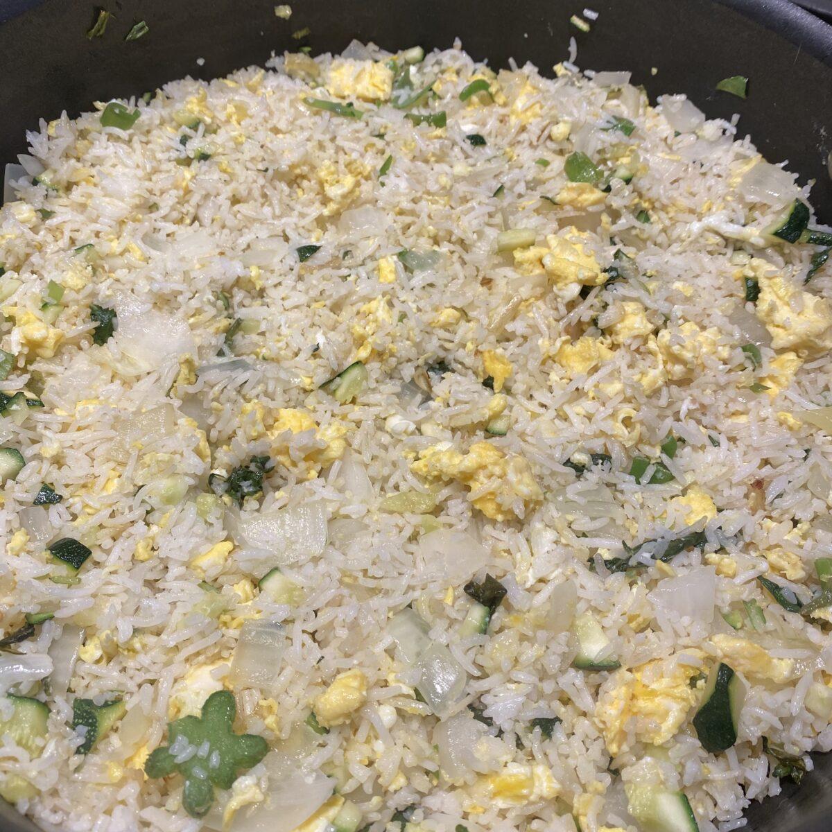 McThai's Veggie + Egg Fried Rice