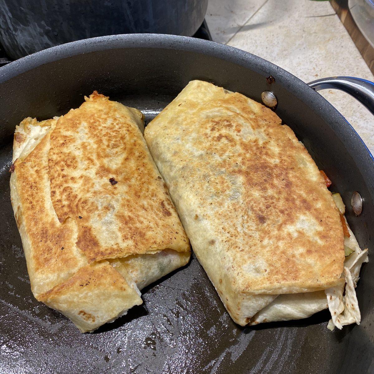 McGeeto's Veggie Burritos