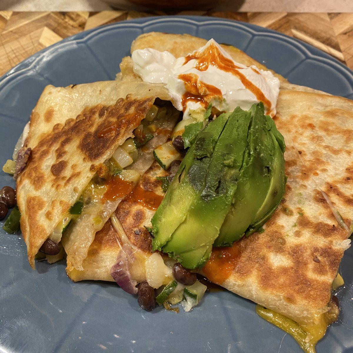 McGeeto's QuesaZilla (quesadilla)